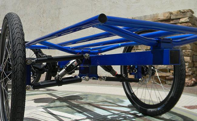 Utah Trikes suspension trailer