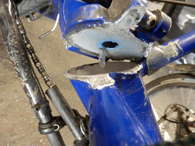 Trike Weld Failure 2