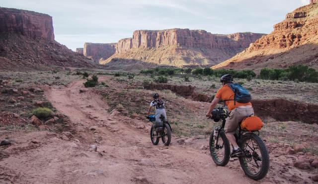 Fat Bike backcountry road