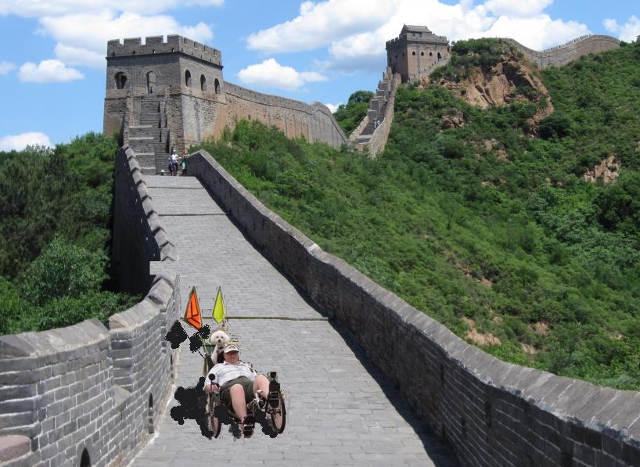 Steve Newbauer Wall of China