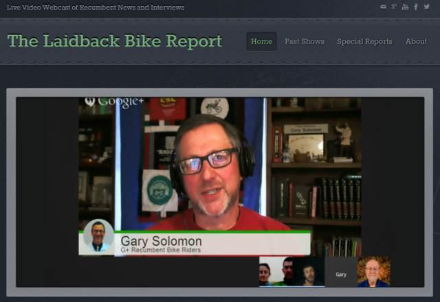 Laidback Bike Report