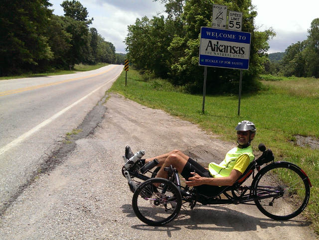 William Cortvriendt 2015 USA Trike Trip 11
