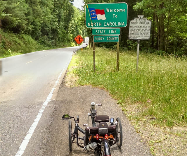 William Cortvriendt 2015 USA Trike Trip 20
