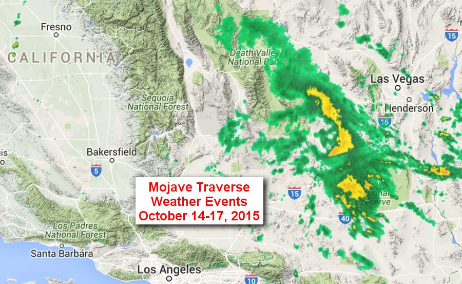 Mojave Traverse Weather Fury 2