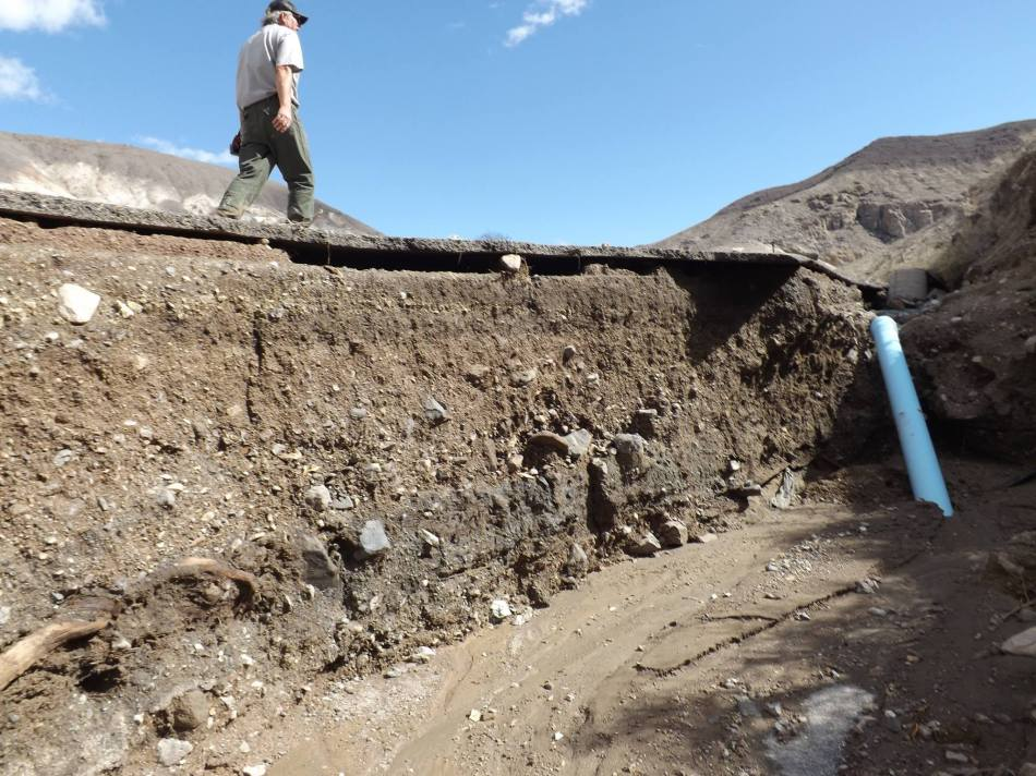 Death Valley Flood Destruction 3