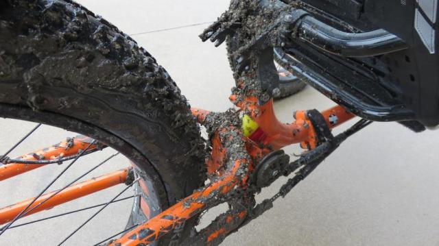 Larry's muddy chain
