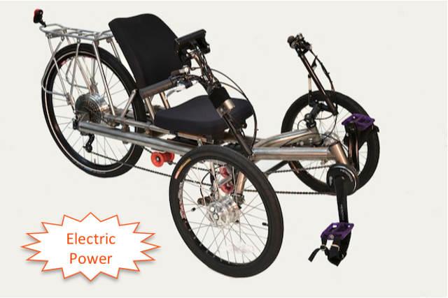 T-250-electric Ti Trike