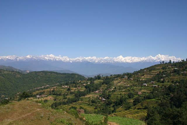 Himalayas from Kathmandu