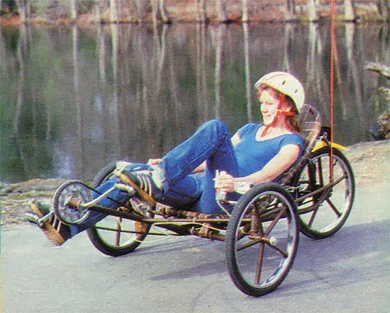 Mother Earth New Recumbent Trike 02