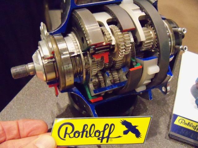 Rohloff Hub inside