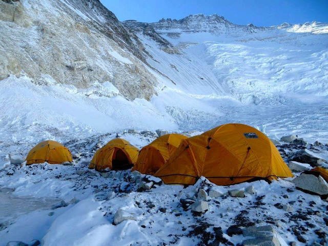 Camp 2 Mt. Everest May 2016