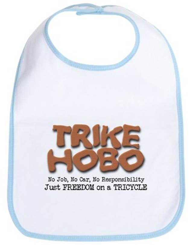 Trike Hobo Baby Bib