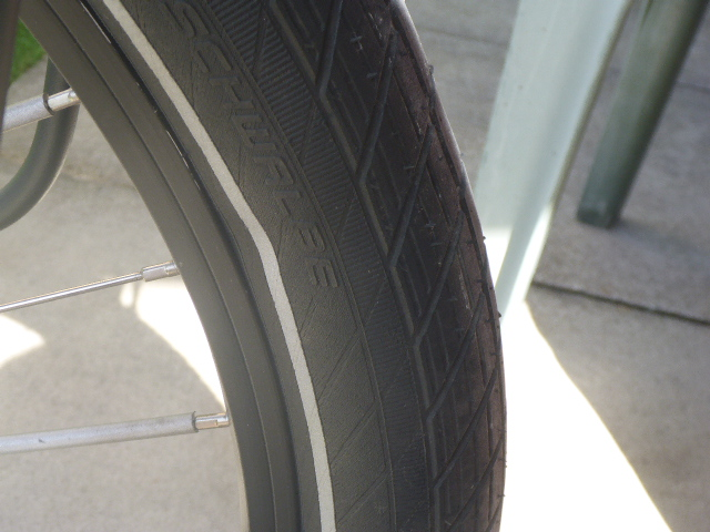 Alonzo Savage tire tube issue